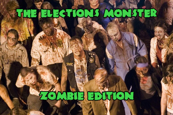 The Elections Monster: Zombie Edition