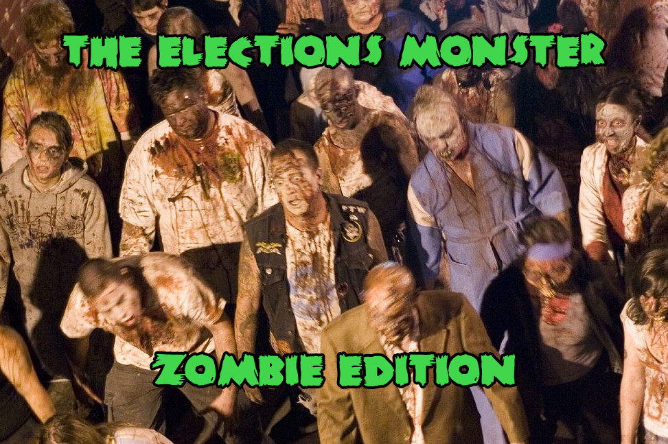 Another stupid zombie pub crawl probably