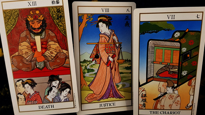 March Card-a-Month: Ukiyoe Tarot