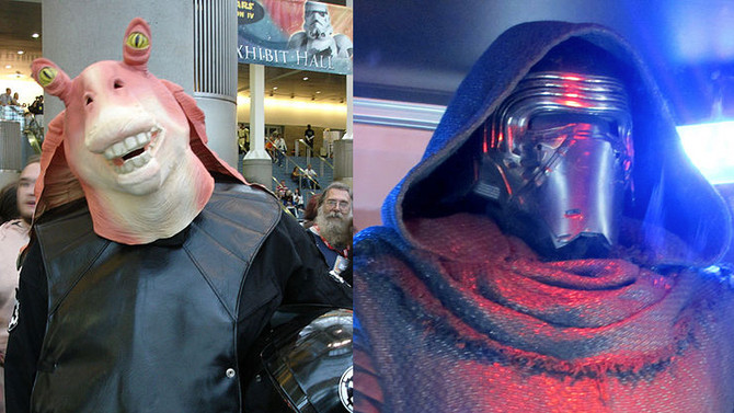 Pairing: The Phantom Menace & The Force Awakens