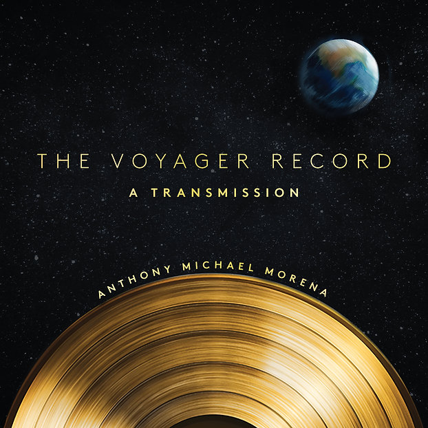 Cover of The Voyager Record by Anthony Michael Morena