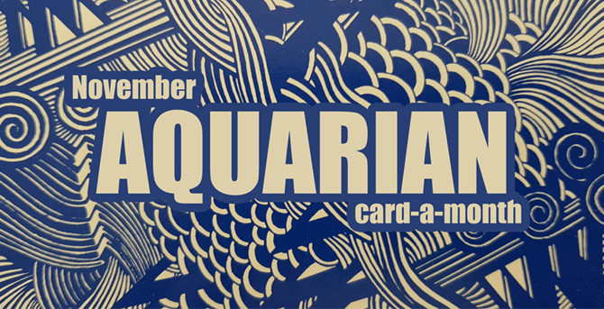 November Card-a-Month: Age of Aquarian