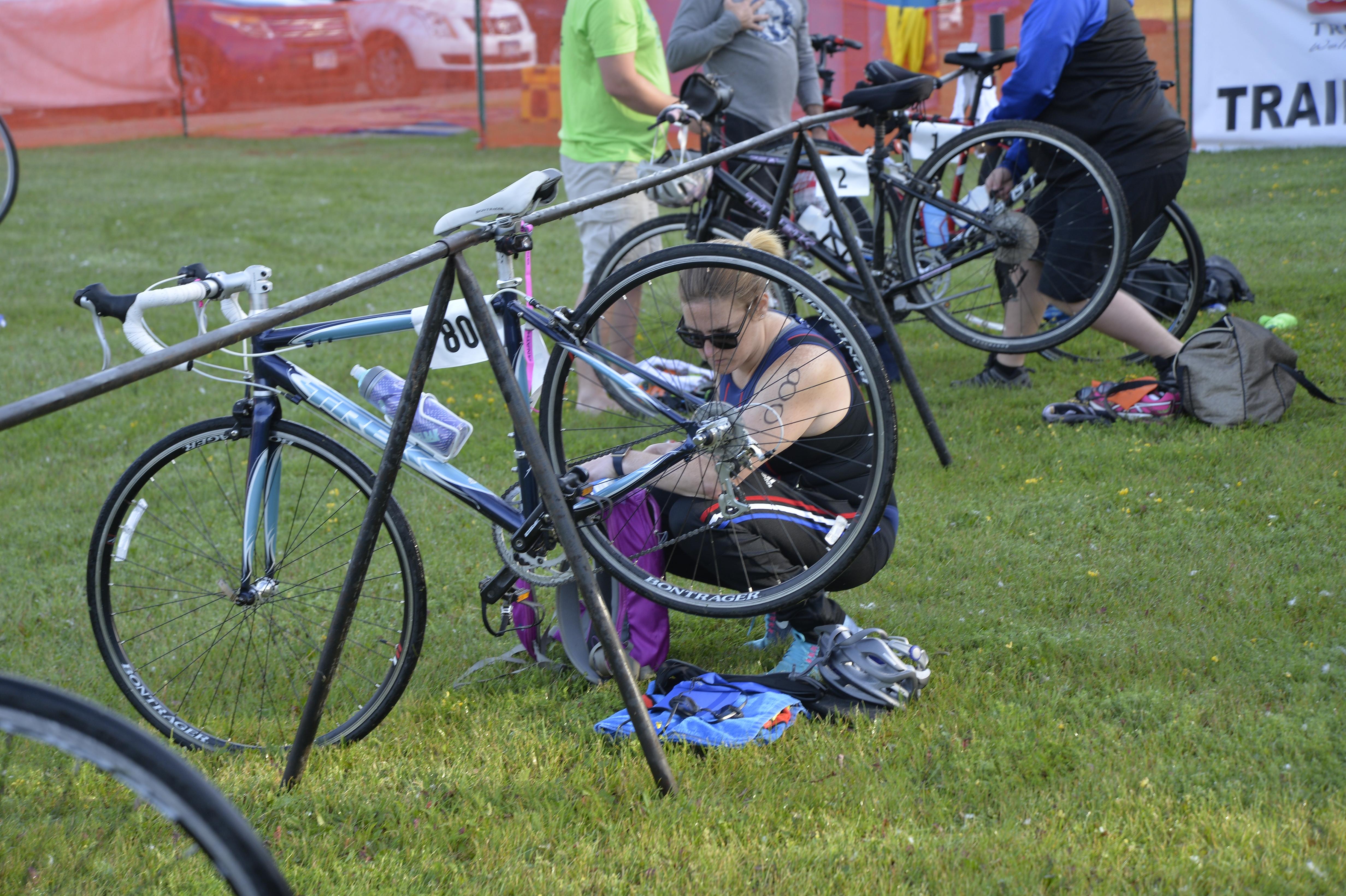 Triathlon Bike Stock Photos & Triathlon Bike Stock Images