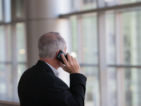 Our Process - Step 3 - Calls From Prospective Clients