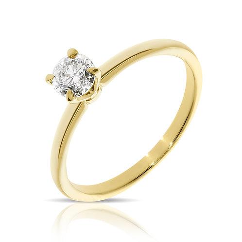 טבעת יהלום   דגם: לופין