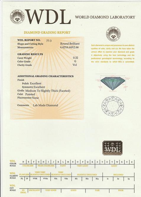 יהלום - 0.32 קראט