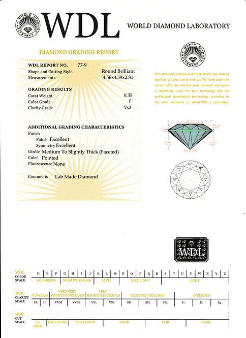 יהלום - 0.35 קראט