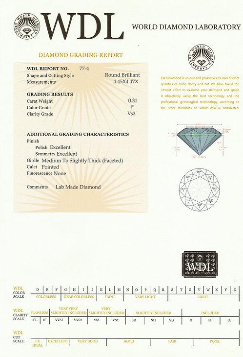 יהלום - 0.31 קראט