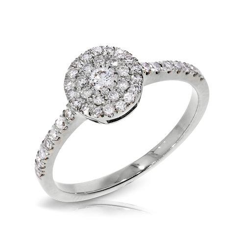 טבעת יהלום | דגם: ג'רזי