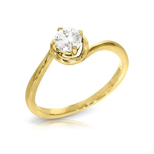 טבעת יהלום | דגם: שביט