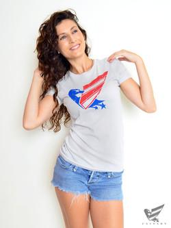 Women's-Silver-Duck-USA-Tee