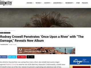 "Rodney Crowell Penetrates 'Once Upon a River' with ""The Damage,"" Reveals New Album"