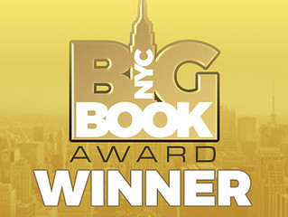 Tony Brown Receives National Recognition Through the NEW YORK CITY BIG BOOK AWARD®!