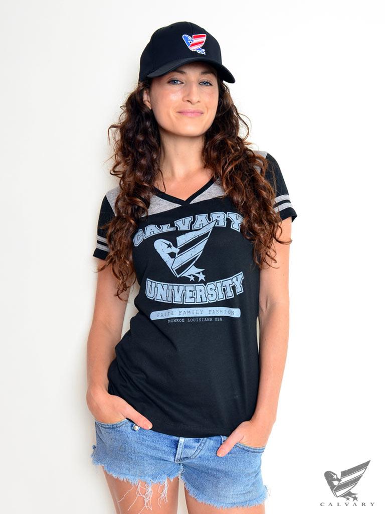 Women's-Calvary-University-Tee