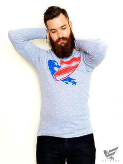 Men's-Grey-Duck-USA-Long-Sleeve-T