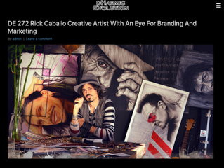 RICK CABALLO: CREATIVE ARTIST WITH AN EYE FOR BRANDING AND MARKETING