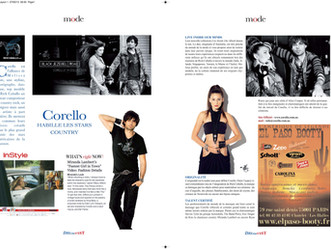 Rick Caballo Featured in France - Fashion //Art//Music