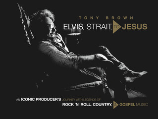 TONY BROWN - ELVIS, STRAIT, TO JESUS Book Review