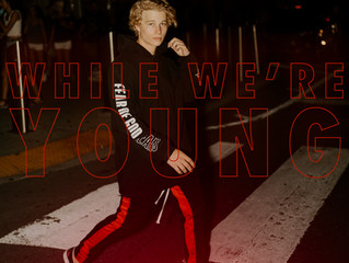 """TEEN HEARTTHROB ANDERSEN HUGH CELEBRATES YOUTH CULTURE IN NEW SINGLE """"WHILE WE'RE YOUNG"""""""