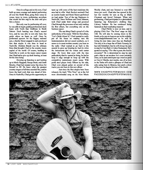 Chad Pfeifer Delta Style Magazine