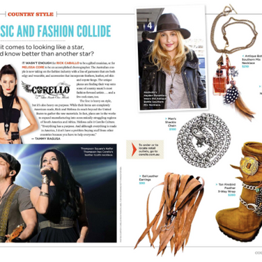 Corello in Country Weekly