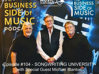 Business Side of Music Podcast feat. Songwriting University