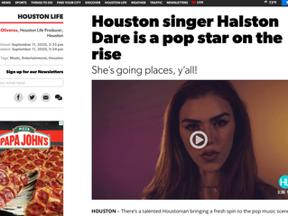 Houston singer Halston Dare is a pop star on the rise