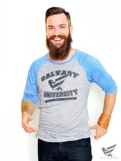 Men's-Blue-Calvary-University-T