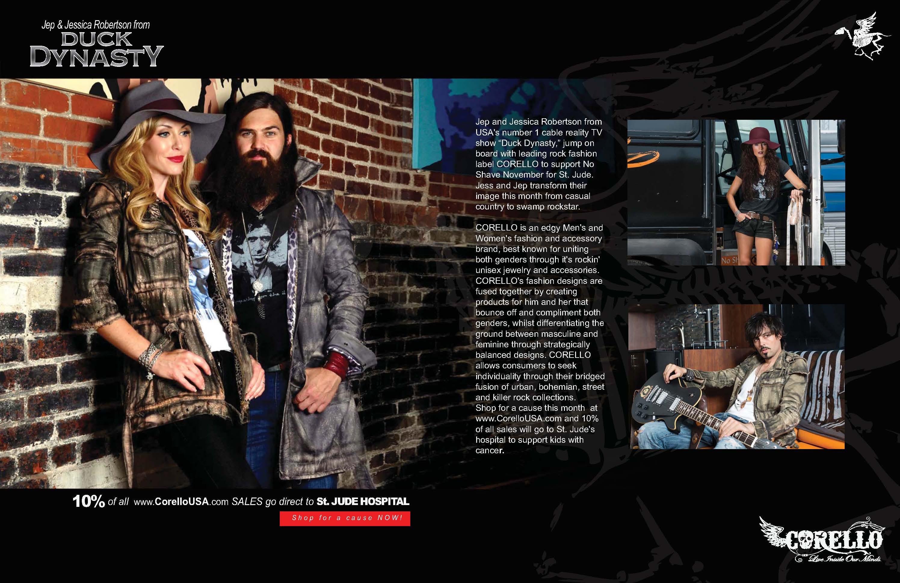 Jep and Jessica Robertson LA Fashion