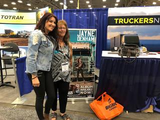 Jayne Denham discusses her journey in U.S. trucking, music industries