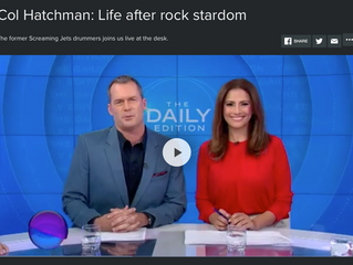 Col Hatchman of The Drum Corp on the Daily Edition - Australia.
