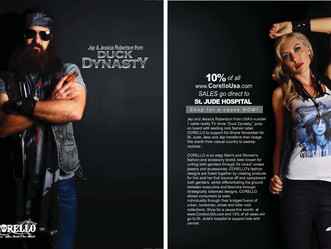 'DUCK DYNASTY' DON CORELLO ROCK FASHION- by designer Rick Caballo