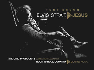 Renowned Country Music Producer, Tony Brown Launches Iconic Coffee Table Book - Elvis, Strait, to Je