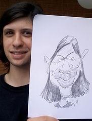 Caricaturist London