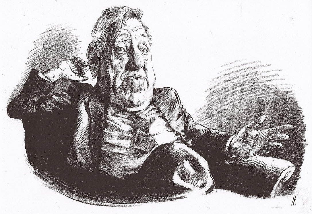 Roy Hattersley, Caricaturist London