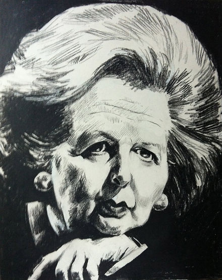 Thatcher, Caricaturist London