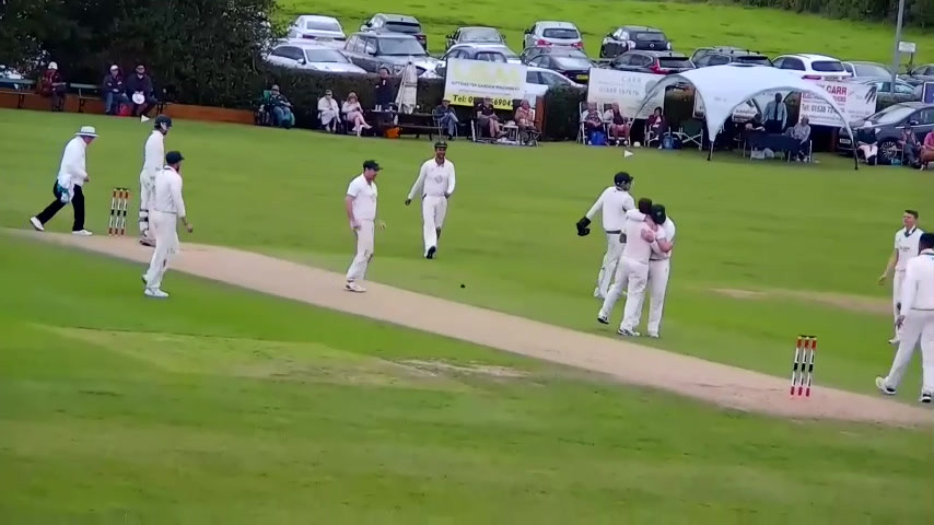 S.M.Dutton lbw b T.Maxfield.mp4