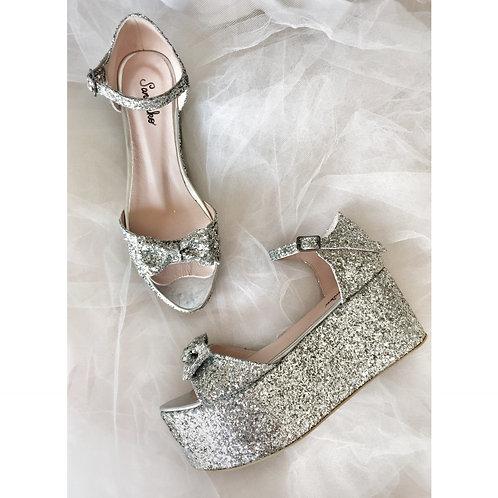 Misha Dolgu Topuk Ayakkabı