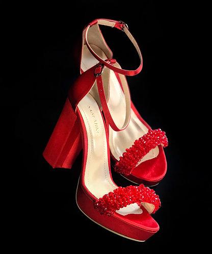 Valerie Topuklu Ayakkabı - Kırmızı
