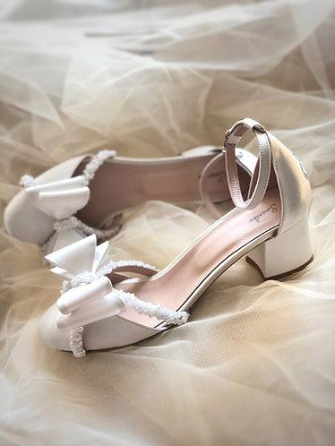 Linda İncili Gelin Ayakkabısı