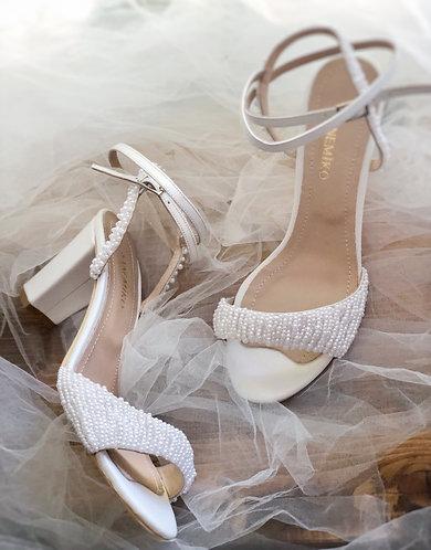 Abby Pearl Gelin Ayakkabısı