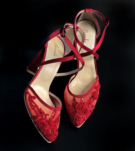 Betina Kına Ayakkabısı Hemen Teslim