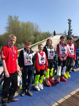 Telford Ski Team Representatives May 18