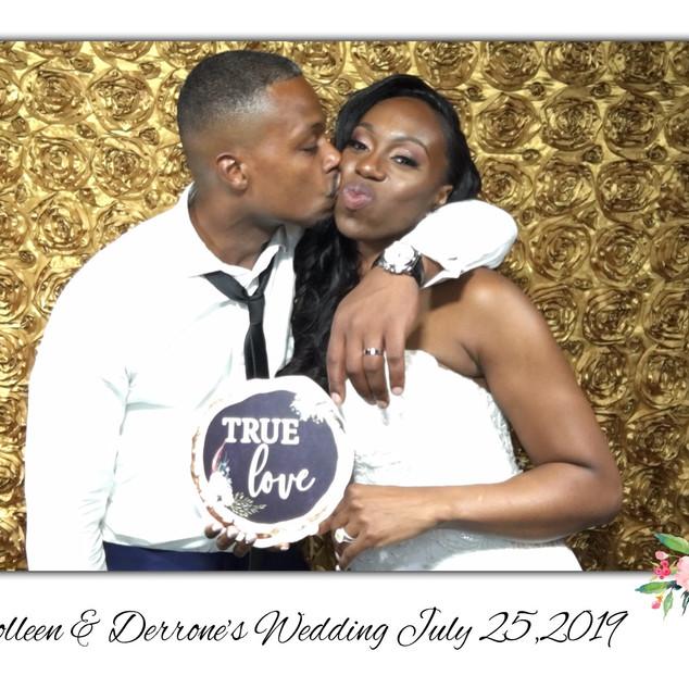 Colleen & Derrone's Wedding
