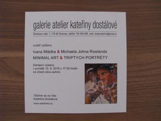 Kateřina Dostalova Galerie - Vernisáž