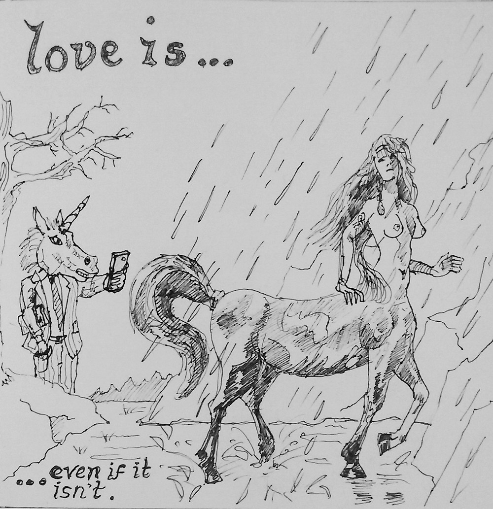 Love is Even if it Isn't 20cm x 20cm
