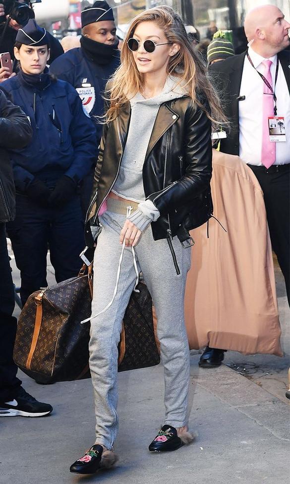 Gigi Haddid: a rainha dos looks comfy