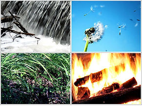 four elements in nature