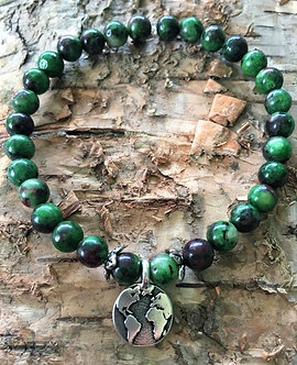 In Harmony With The Earth Crystal Bracelet
