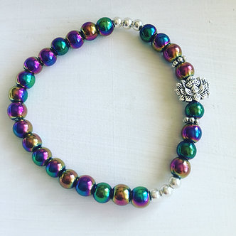 Joyful Lotus Crystal Bracelet